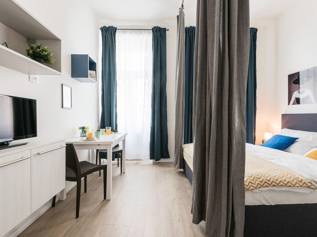 Práctico apartamento de 21 m²