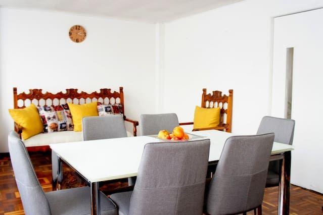 Vivienda en Bogotá de 1 habitación