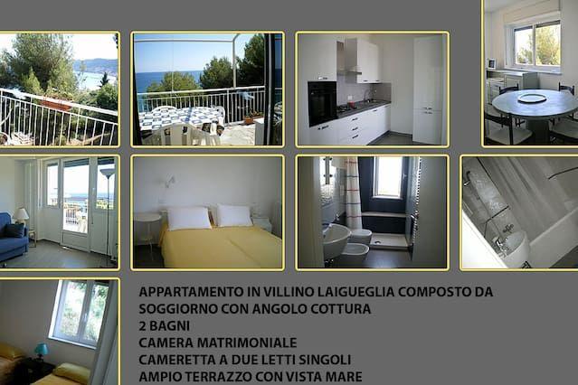 Residencia de 2 habitaciones en Laigueglia