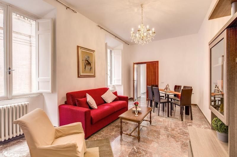 Central holiday rental of 3 bedrooms in Rome