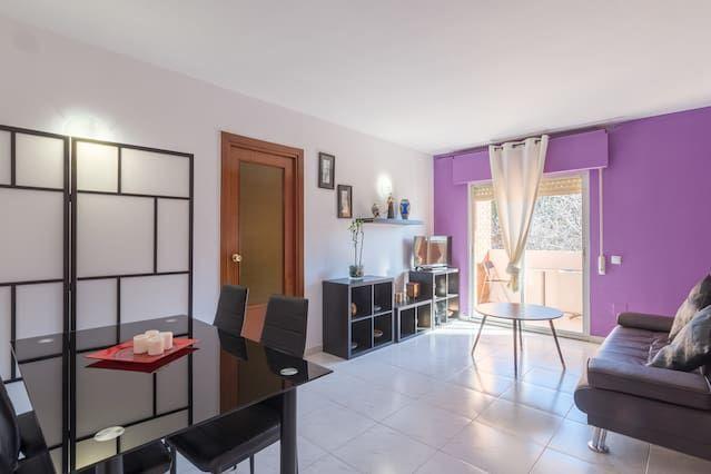 Funcional piso de 4 habitaciones