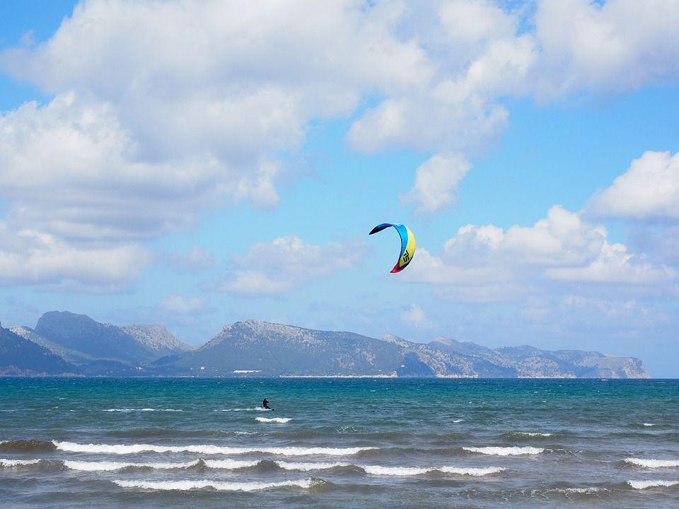 kitesurf Majorque