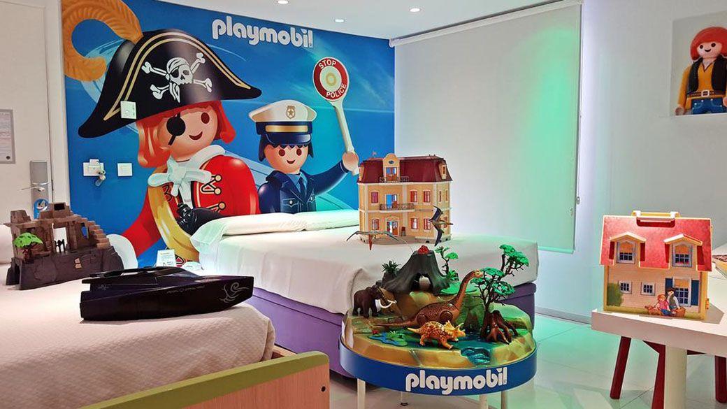 Habitación Playmobil en el Hotel del Juguete