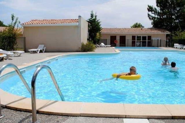 CASA T3, 43m, 4 a 6 personas, con piscina residencia Hourtin PORT