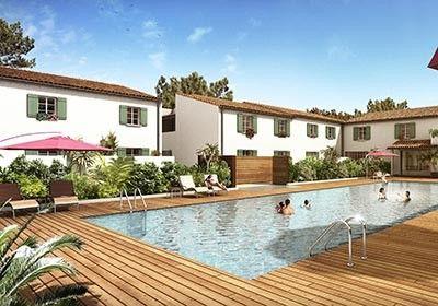 Vivienda con piscina de 1 habitación