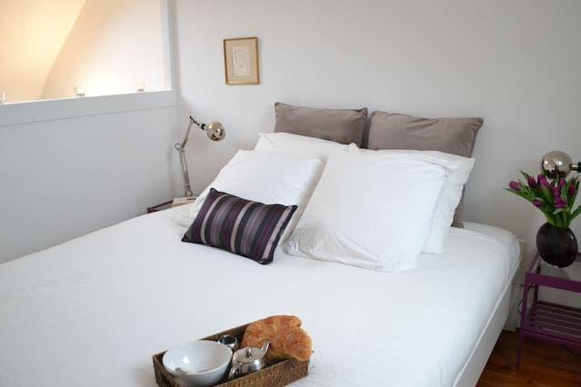 Appartement avec tout ce dont vous avez besoin avec 1 chambre