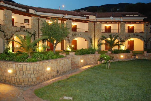 Alojamiento con jardín en Caprioli
