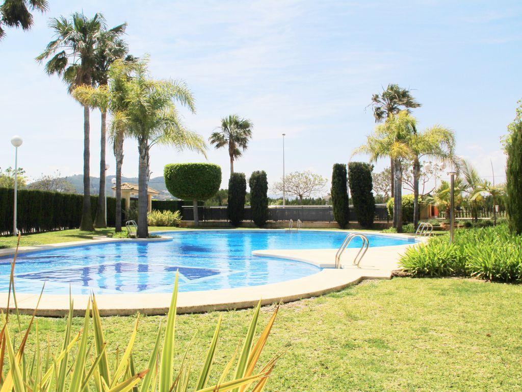 Panorama Ferienunterkunft in Javea