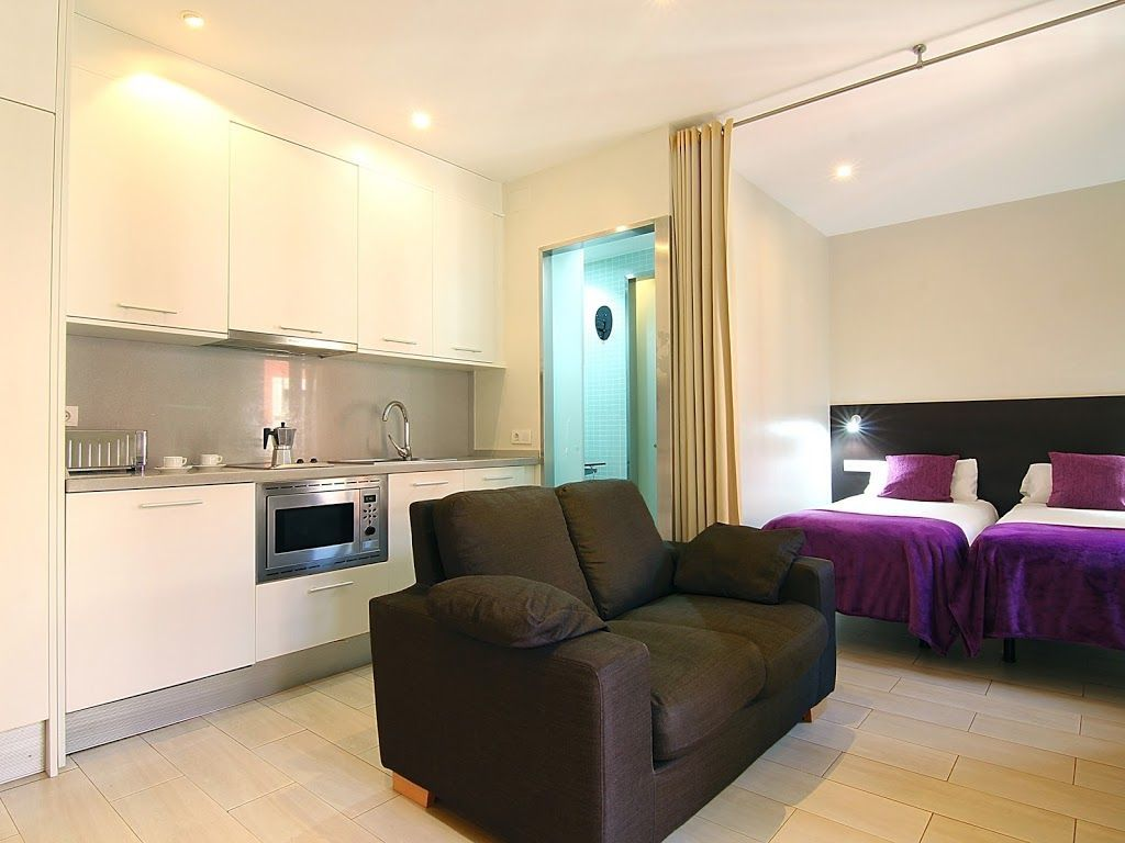 Holiday rental in Barcelona of 35 metres squared