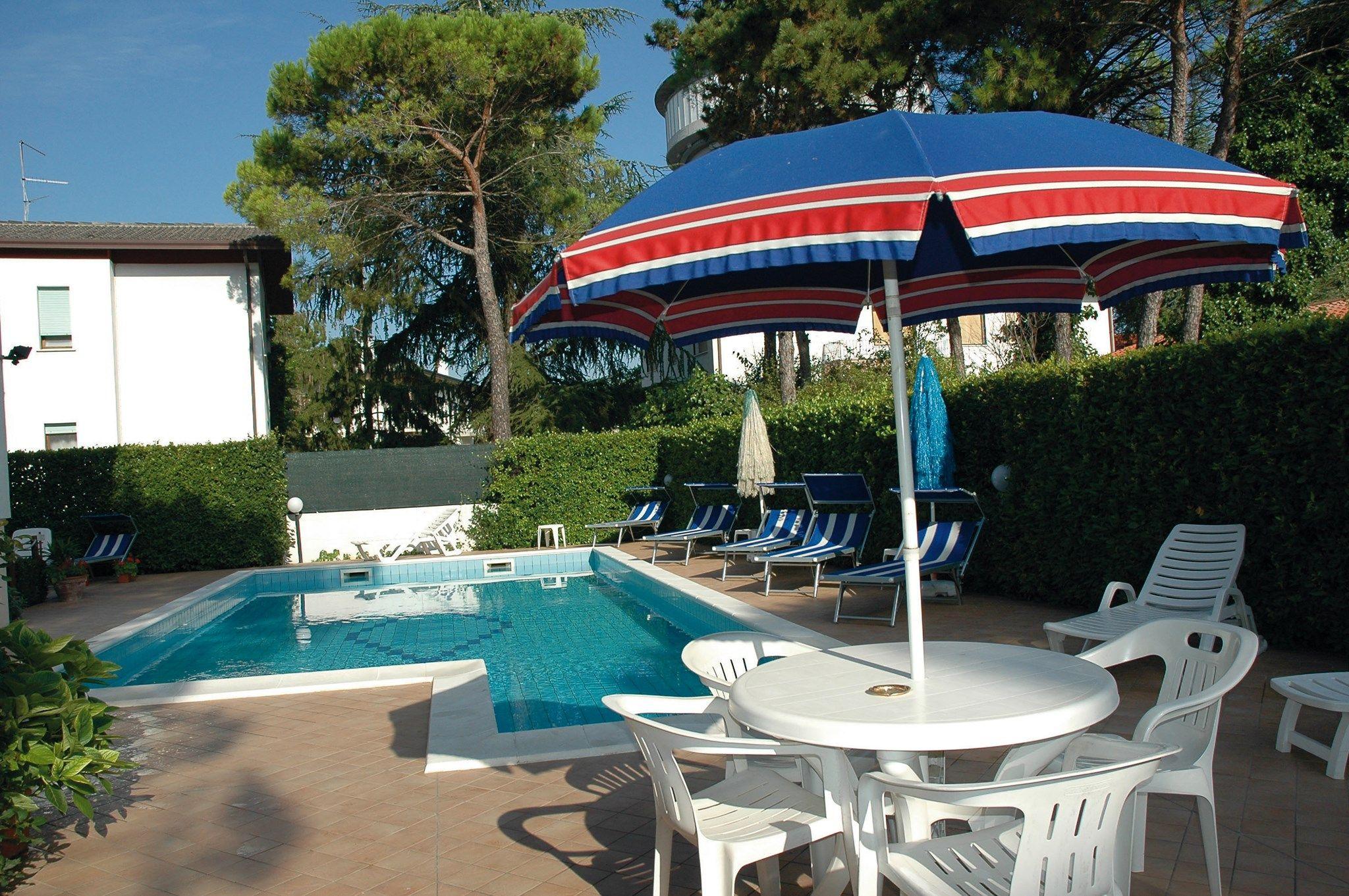 Appartamento con piscina in campagna