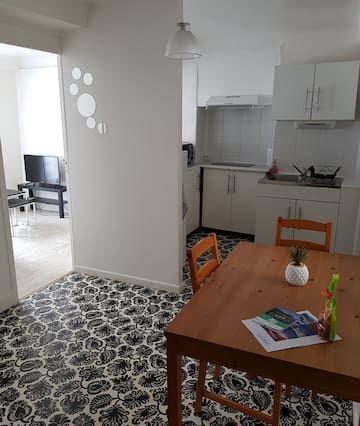 Apartamento equipado en Bayonne
