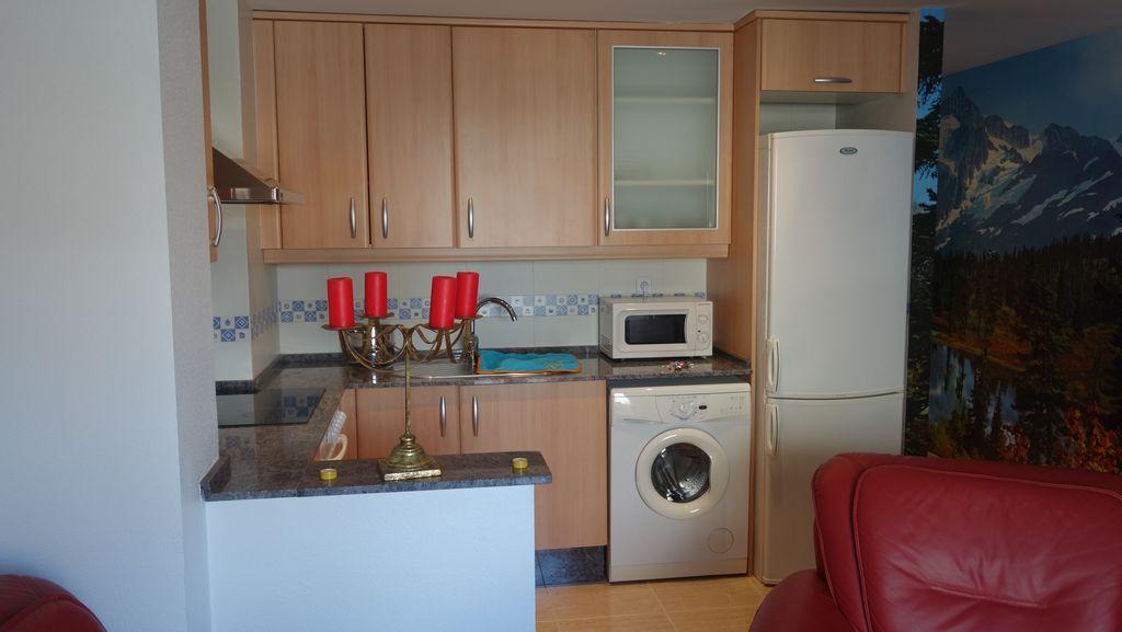 Apartamento acogedor en Benicarló con  AC