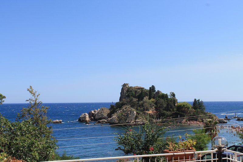 BellaVista Apartment , Taormina , Isola Bella  sea