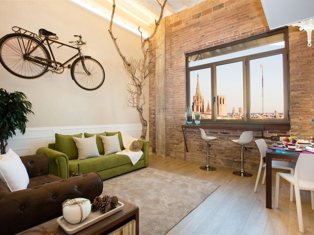 Apartamento agradable para 5 en Barcelona