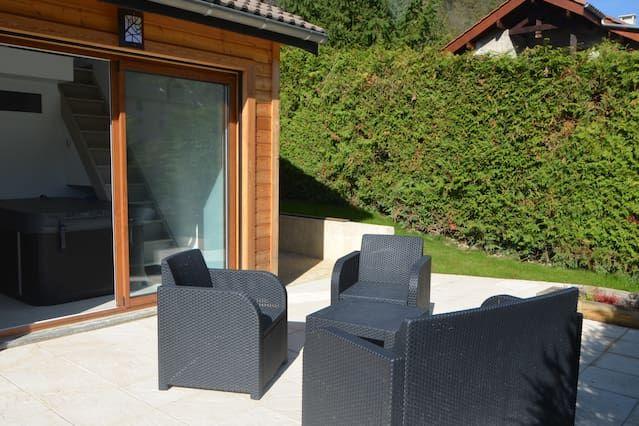Alojamiento de 23 m² con jardín