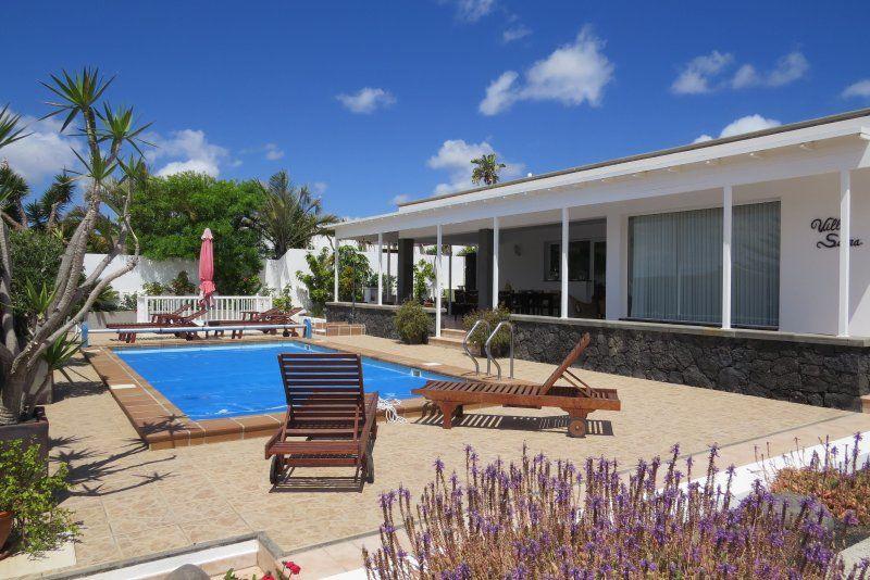 Residencia de 4 habitaciones con piscina