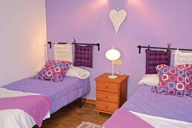 2 habitaciones alojamiento en Calas de Mallorca