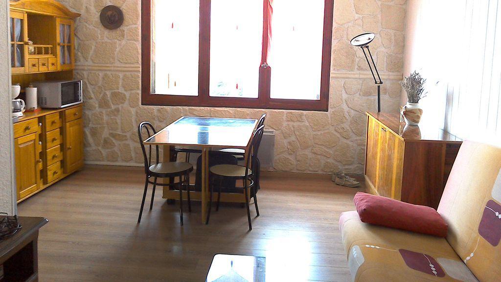 Logement bien équipé de 32 m²