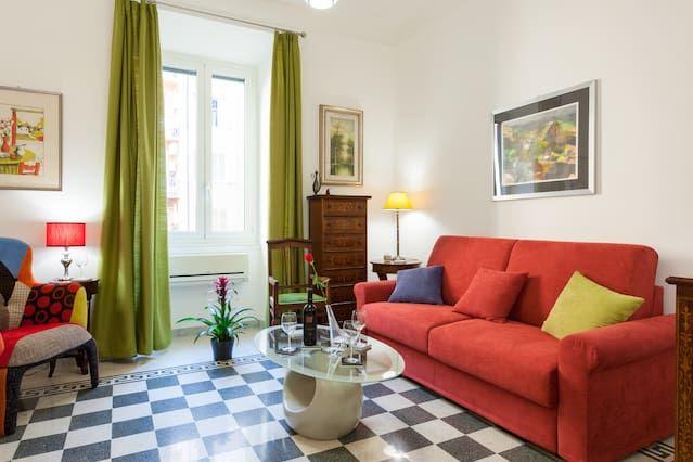 Logement à Roma avec 1 chambre