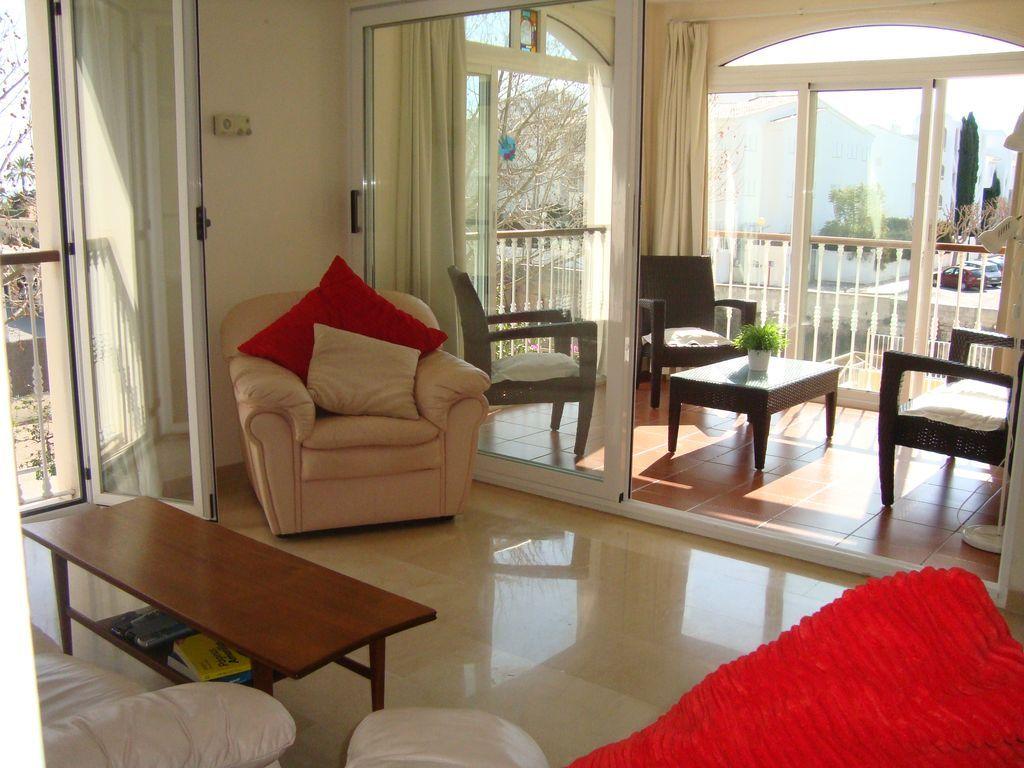 Apartamento hogareño de 2 habitaciones en Costa blanca
