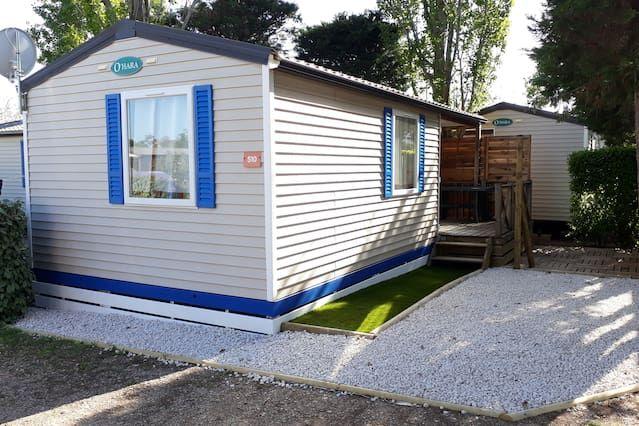 Camping **** Europa - Casa móvil 4 Habitaciones 6 Personas