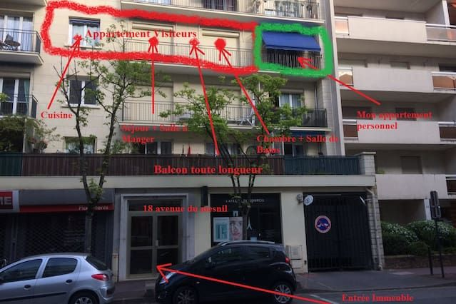 Alojamiento con parking incluído para 4 personas
