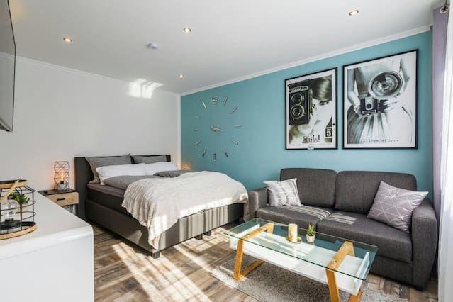 Ferienwohnung mit 1 Zimmer und inklusive Parkplatz
