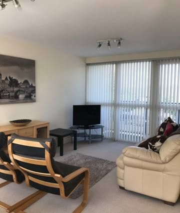 Flat with balcony and 1 room