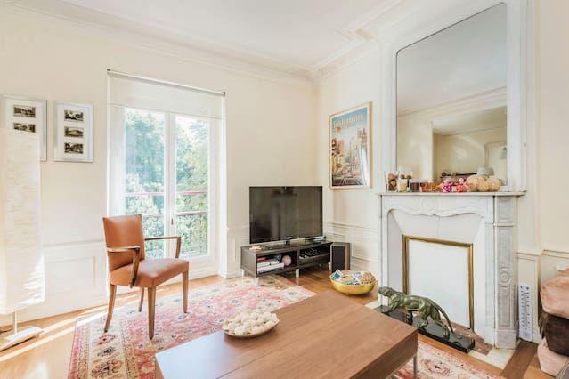2 bedroom apt Paris Saint Mandé