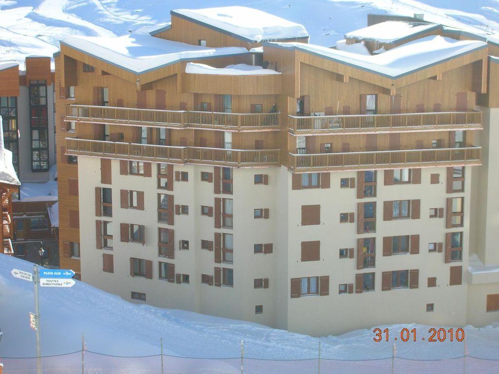 Apartamento en Val thorens para 4 huéspedes
