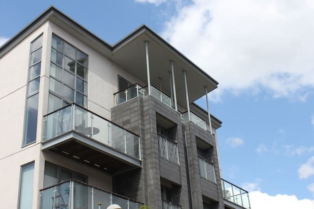 Apartment with balcony and 1 room