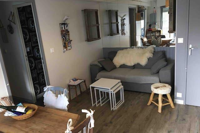Hébergement prisé de 37 m²