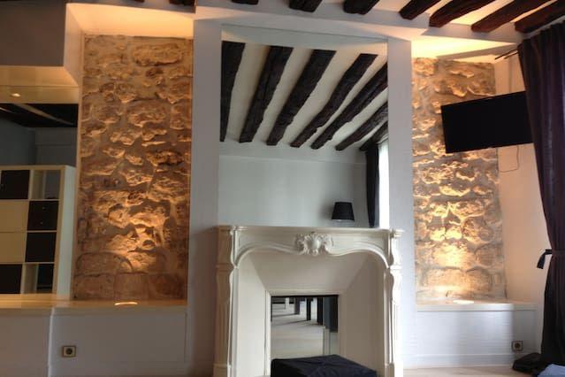 Encantador apartamento en el pueblo de Auteuil