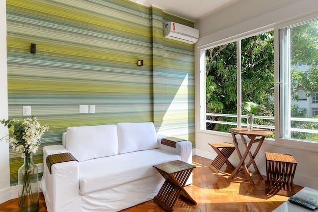 41 m de la playa de Ipanema, Zona tranquila, Vista Verde