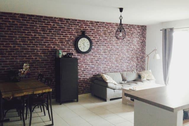 Alojamiento en Montpellier para 4 personas
