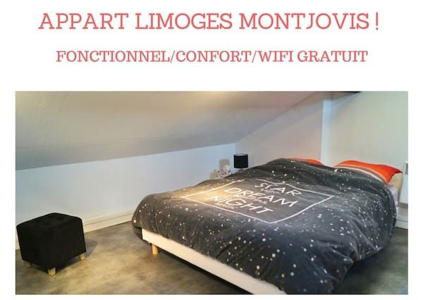 Ferienunterkunft in Limoges mit Wi-Fi