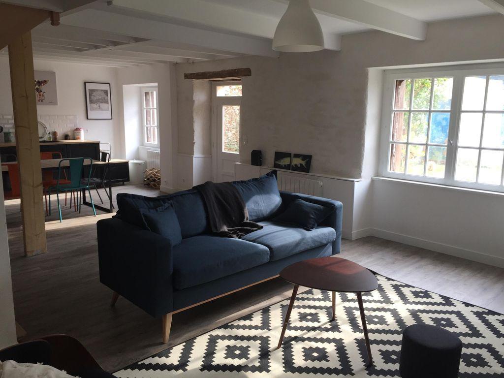 Alojamiento de 4 habitaciones con jardín