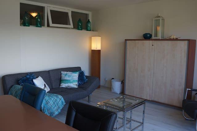 Eingerichtetes Apartment mit Wi-Fi