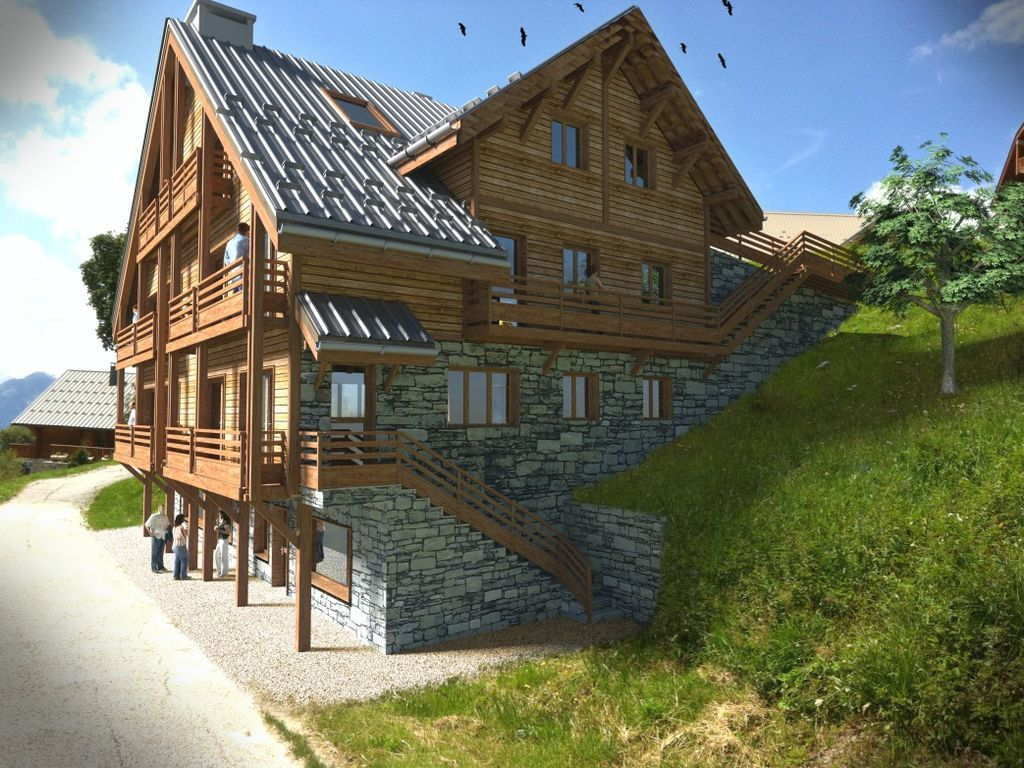 Alojamiento en Saint francois longchamp para 8 personas