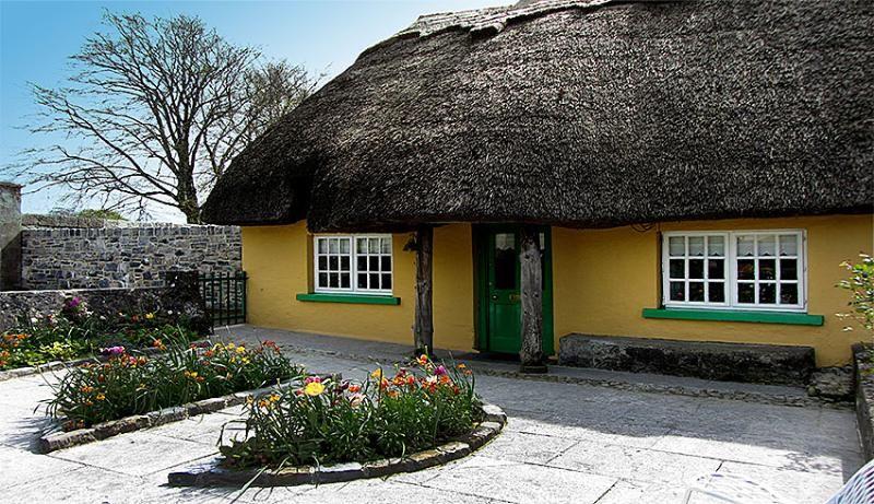 Thatched Home in Adare,Ireland's Prettiest Village