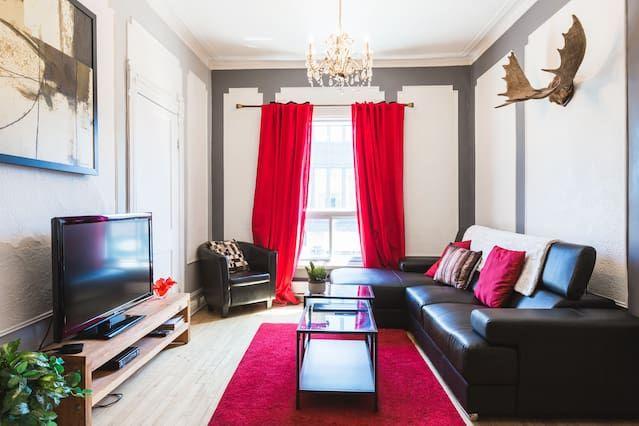 Increíble Piso con 2 dormitorio(s) en Plateau Mont-Royal con Aire acondicionado y Terraza