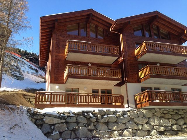 Vivienda con balcón en Grimentz
