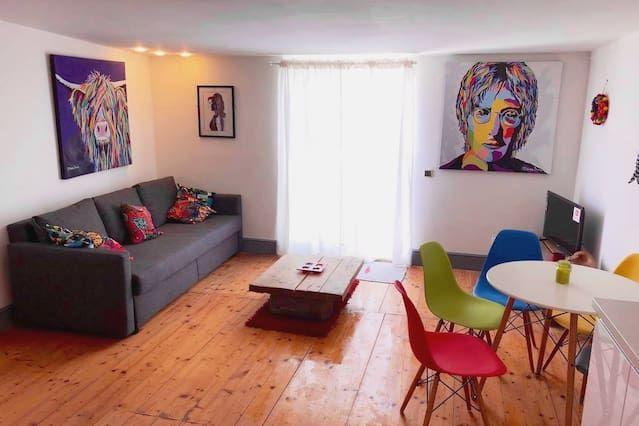 Tout confort logement avec 1 chambre