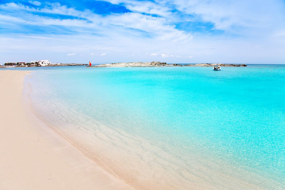 Plage Es Pujols à Formentera