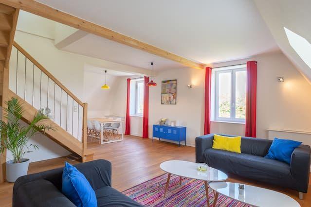 Appartement confortable avec 1 chambre