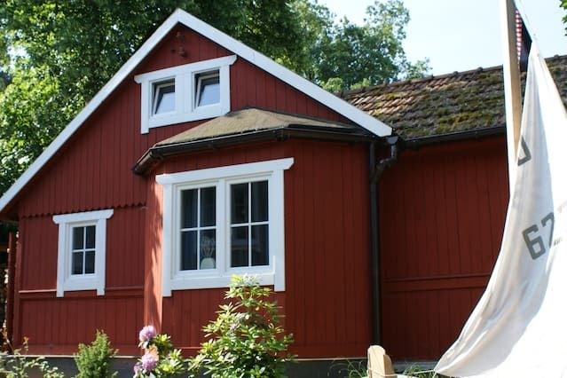 Swedish House at the Forest