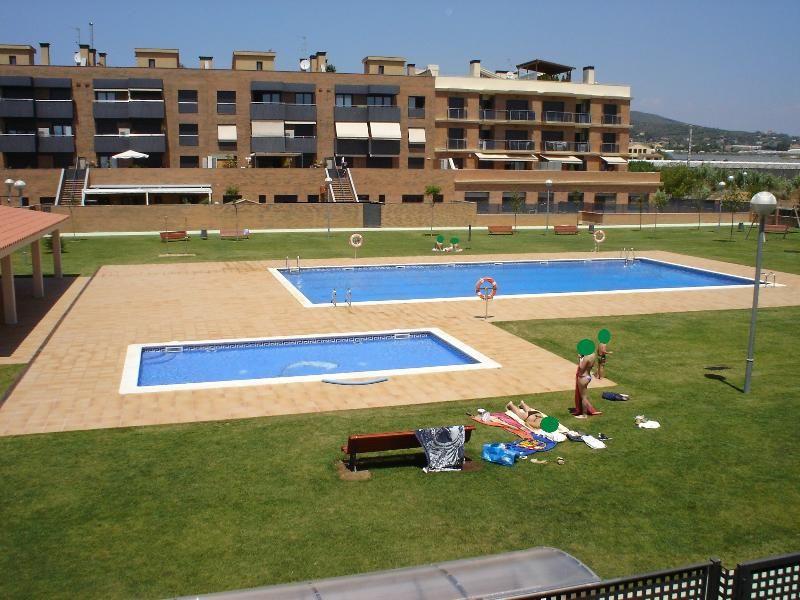 Apartamento con piscina zona playa.