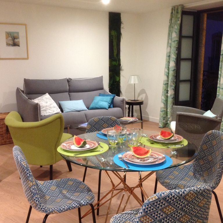 45 m² apartment with parking included