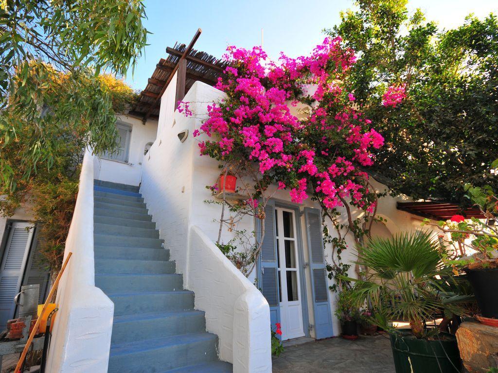 Casa en Antiparos kykladen griechenland con balcón