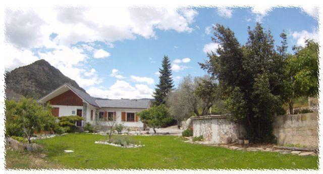 El Chalé de Sopena, en Santaliestra (Huesca)